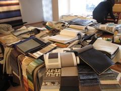 Kangasvalintaa sohviin, verhoihin, tyynyihin