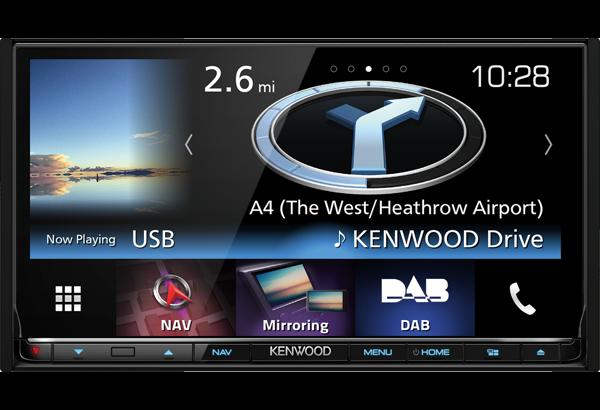 Kenwood DNX8160DAB multimediasoitin navigoinnilla | SK-Autosound Automultimedian ja autohifin ...