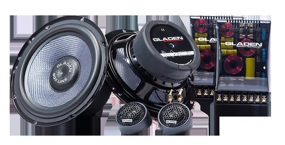 gladen sqx 165 6 5 2 tie erillissarja sk autosound. Black Bedroom Furniture Sets. Home Design Ideas