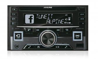 Alpine CDE-W296BT racio-cd/bt | SK-Autosound Automultimedian ja autohifin ammattilainen