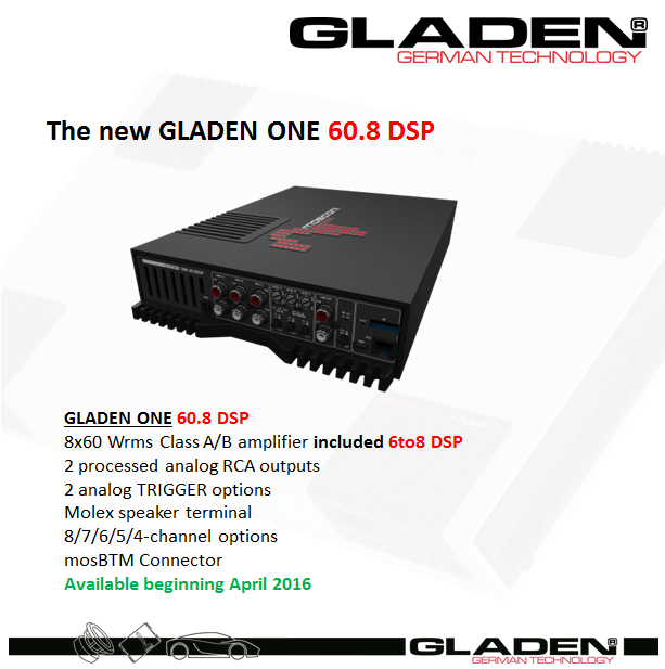 Gladen_ONE60.8DSP_news.png
