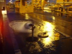 Ilma-vesipuhdistusta Vuosaaren satama