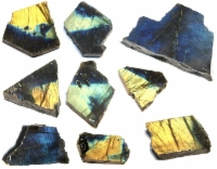 Spectrolite - Rough slabs