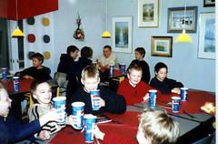 Nuorten pikkujoulut Pizza-Paikassa