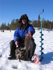 Keijo Perttamo kirjolohikisoissa 2005