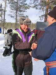 Matti Atsinki palkittavana 2006
