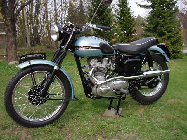 Triumph TR5 Trophy - 1955