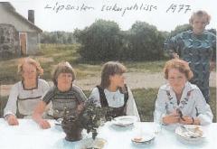 Virtasalmen sukujuhlissa 1977