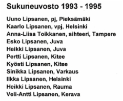 sukuneuvosto 1993-1995