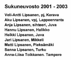 sukuneuvosto 2001-2003