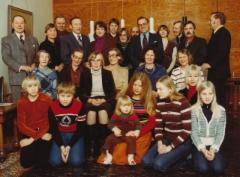 Porin Lipsaset lähettävät parhaat terveisensä Kantalan Lipsalan sukukokoukseen 3.7.1977