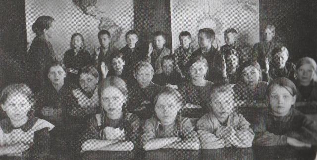 Kansakoulussa 1925