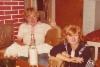 Airi Kantanen: minä ja Tuula Hänninen, Markku Hännisella kylässä joskus 1970-80-luvulla