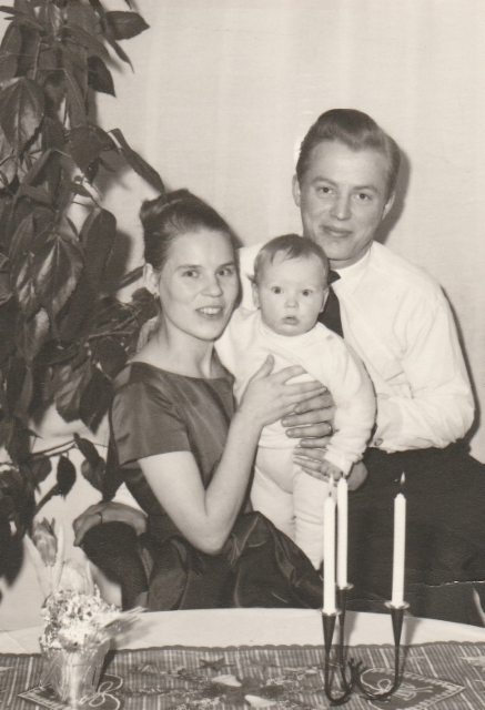 Airi Kantanen: veljeni Veikko Kantanen ja Helena ja Rainer