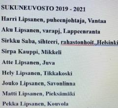 sukuneuvosto 2019-2021
