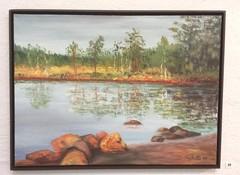 Elvi Aalto - Soisalmensuo ilta-auringossa
