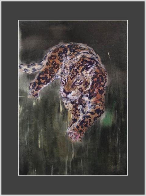 Lumoava leopardi Aune Vänskä