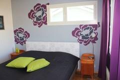 Ruusut makuuhuoneessa