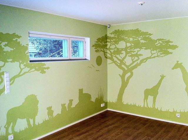 vihreä iso savanni