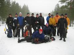 Ryder Cup joukkue seniorit yhteiskuva v. 2012