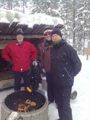 Ikaalisten pojat Hannu, Jorma ja Heikki
