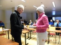 Naisten sarjan voittaja Helen Pajuniemi-Vataja
