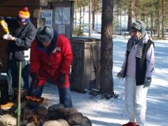 Lasse ja Raili pitävät huolen että nälkä ei tule kenellekkään