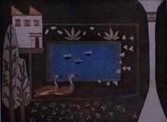 Egyptiläinen puutarha 3. 21x29,1997