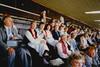 Karjalaisten kesäjuhlassa Olymppiastadionolla Helsingissä
