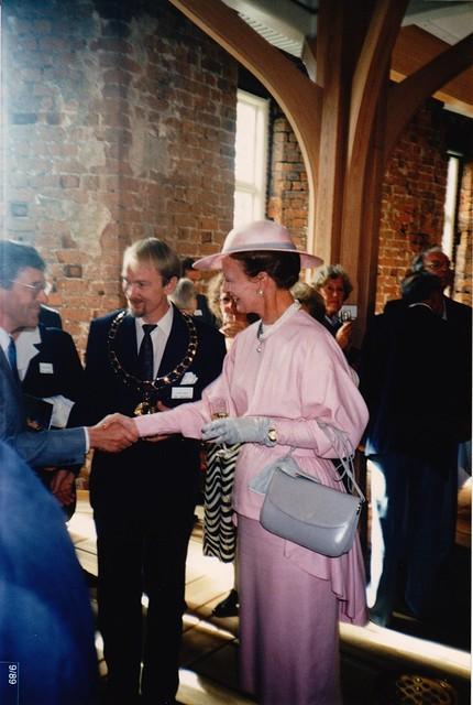 Tanskassa ystävyyskaupunki vierailulla sai kätellä jopa kuningatarta