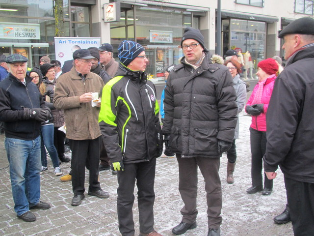 Ari Torniainen ja Juha Sipilä