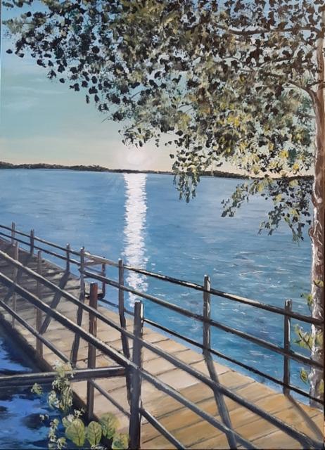 Laituri Savojärvi