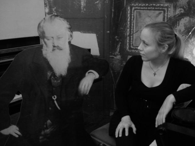 Terhi Dostal and Johannes Brahms