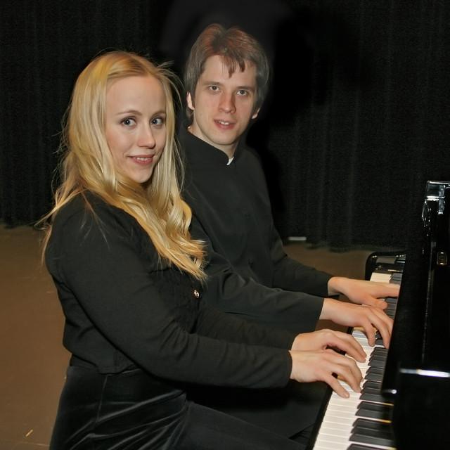 Muonio 2010. Piano duet Dostal & Eckardstein