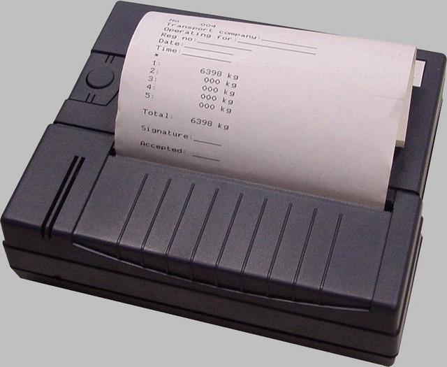 Tulostin, Loadmaster, nosturivaaka