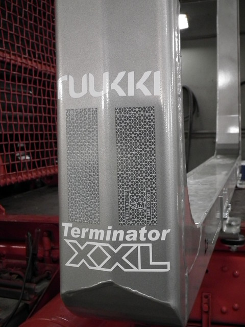 Terminator XXL  laatua.Ruukin terästä ja ultralujaa sellaista!.