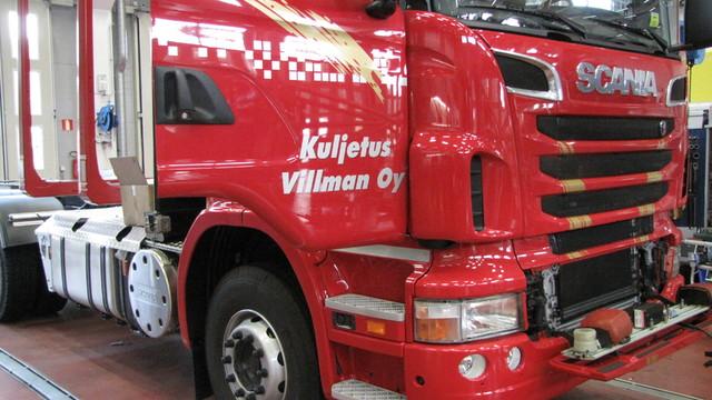 Scania V8 ja XXL kuormatila. Tuottava valinta ja - mukava.
