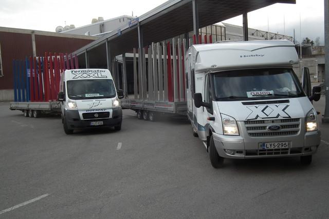 XX Express vahvistaa kuljetus- ja asennuskapasiteettia.