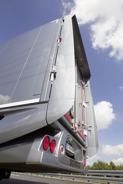 IIA : Mercedes Benz Aerodynamic Truck & Trailer