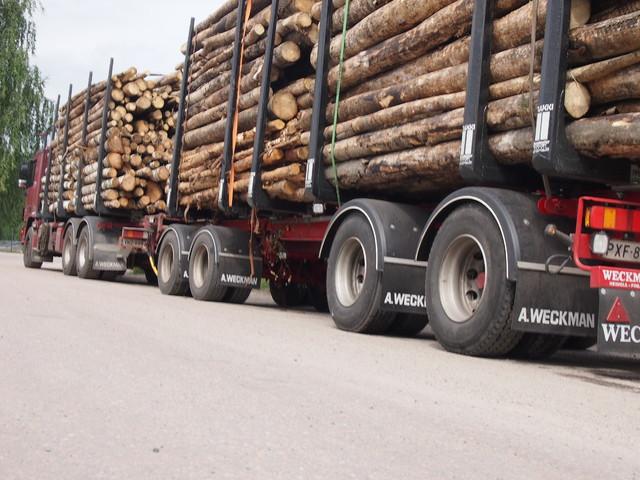 Kuorma nyt 60 tonnin painojen mukainen. Mahtuuko 4.000 kg lisäpotti kesäkuormiin?