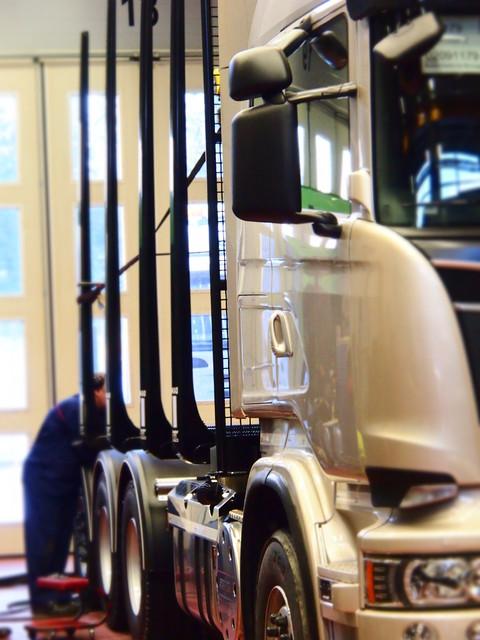 Scania R 620 V8 Tridem