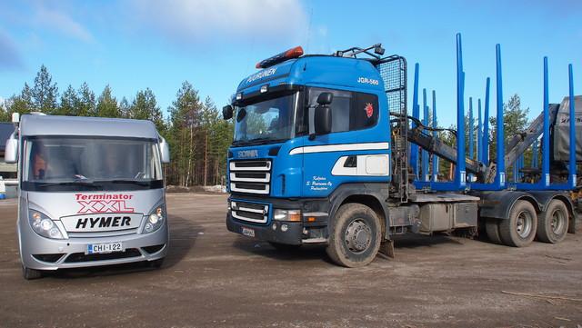 XX BusinesService on viikonvaihteenkin liikekannalla. Pudasjärvi lauantai ja 3.5.2014.