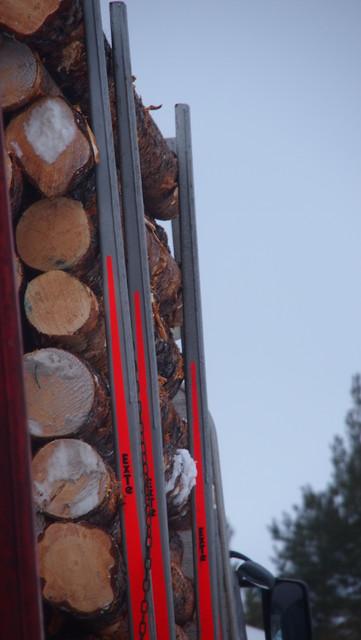 Exte S6  on kevytrakenteinen pinotavarapankko ( max , 6 tonnia / pankko).