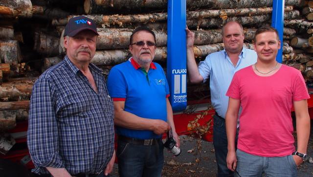 Aimo Mäkinen, Heikki Jokela,Markku Hirvi ja Tommi Laurinaho. Tulos selkeytti ajatuksia.