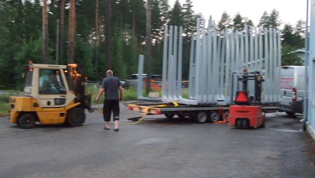 Pankkosarjat Metkoon MST vaunuissa.