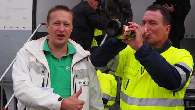 Janne jokela ja Vuoden 2014 Mestari Jari Sarajärvi.