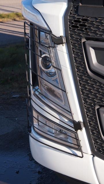 Volvo on tehnyt puhtaat lamput älykkäällä aeromuotoilulla.
