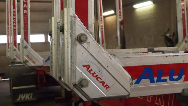 Alucarin irtotolppainen alumiinipankko ALU 70.