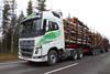 102 tonninen ajetaan 94 tonnin kokonaispainoisena. Maantierasitukset paranevat entisestään.
