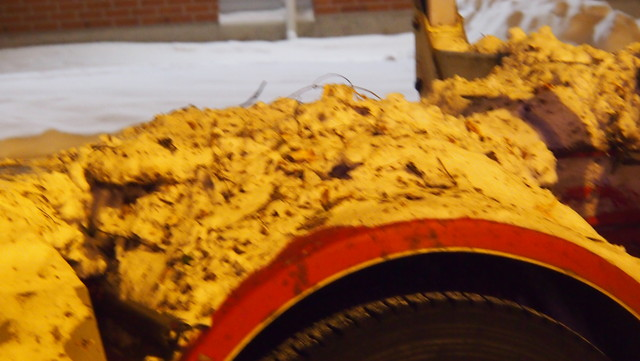Auton lokasuojat toimii lumenkerääjinä.